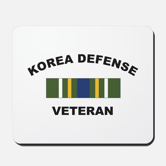 Korea Defense Veteran Mousepad