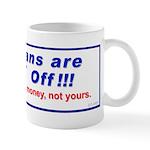"""""""Tea-d Off"""" Mug"""