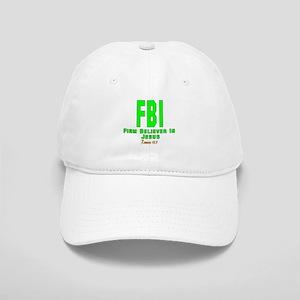 FBI: FIRM BELIEVER IN JESUS Cap