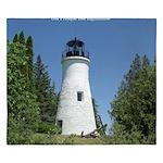 Old Presque Isle Lighthouse King Duvet