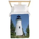 Old Presque Isle Lighthouse Twin Duvet Cover
