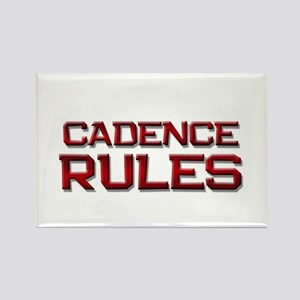 cadence rules Rectangle Magnet