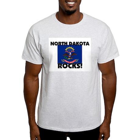 North Dakota Rocks Light T-Shirt