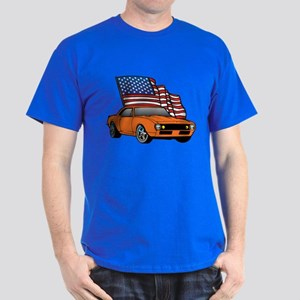 American Muscle Car Dark T-Shirt
