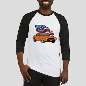 American Muscle Car Baseball Jersey