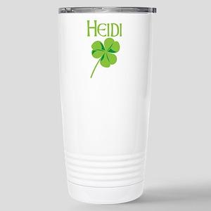 Heidi shamrock Stainless Steel Travel Mug