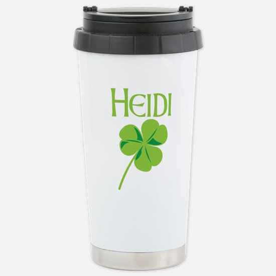 Heidi shamrock Stainless Steel Travel Mug