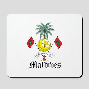 Maldivian Coat of Arms Seal Mousepad