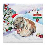 Giddeon's Winter Wonderland Tile Coaster