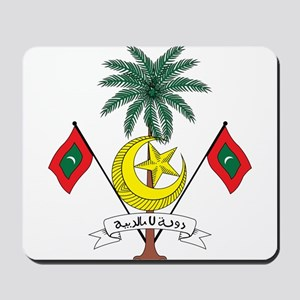 maldives Coat of Arms Mousepad