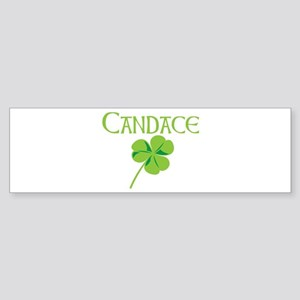 Candace shamrock Bumper Sticker