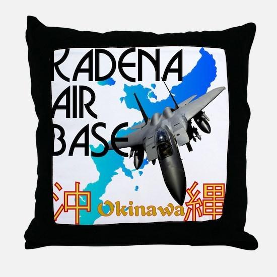 Kadena AB New Design Throw Pillow
