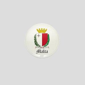 Maltese Coat of Arms Seal Mini Button