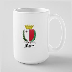 Maltese Coat of Arms Seal Large Mug