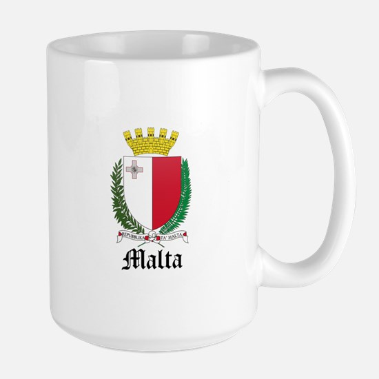 Maltese Coat of Arms Seal Large Mug