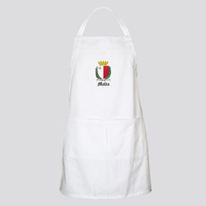 Maltese Coat of Arms Seal BBQ Apron
