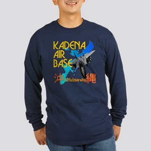 Kadena AB New Design Long Sleeve Dark T-Shirt