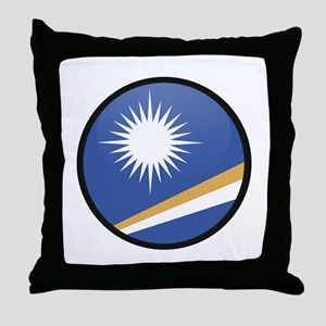 MARSHALL ISLANDS Throw Pillow