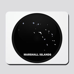 Flag Map of MARSHALL ISLANDS Mousepad