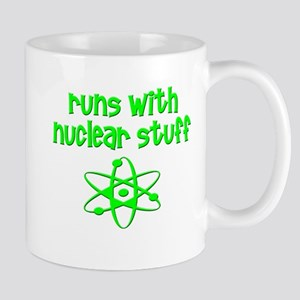 funny nuclear engineer scientist medicine uni Mugs