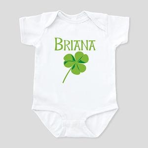 Briana shamrock Infant Bodysuit