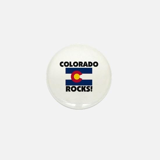 Colorado Rocks Mini Button