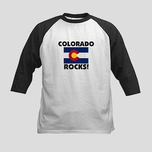 Colorado Rocks Kids Baseball Jersey