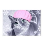 Bunny Winterized Postcards (Package of 8)