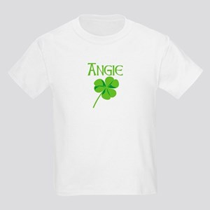Angie shamrock Kids Light T-Shirt