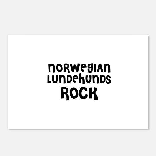 NORWEGIAN LUNDEHUNDS ROCK Postcards (Package of 8)