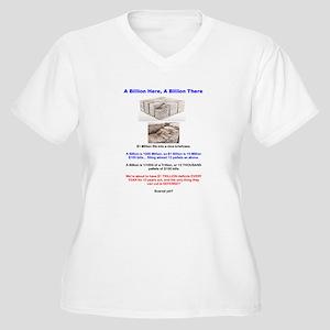 What's a Trillion? Women's Plus Size V-Neck T-Shir