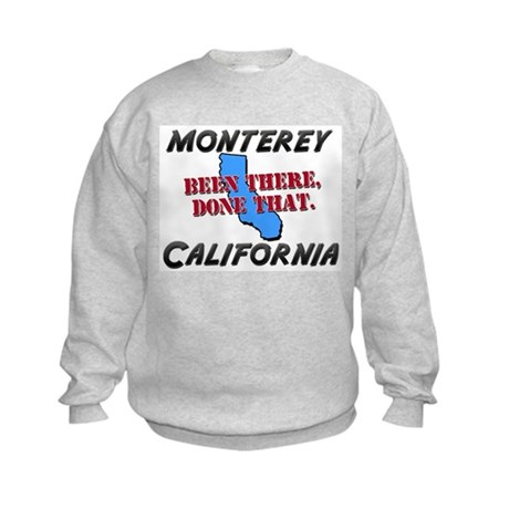 monterey california - been there, done that Kids S