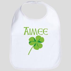 Aimee shamrock Bib