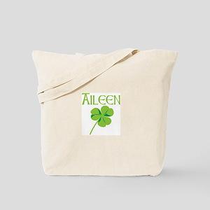 Aileen shamrock Tote Bag