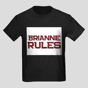 brianne rules Kids Dark T-Shirt