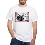 Inky's Winter White T-Shirt