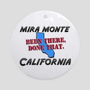 mira monte california - been there, done that Orna