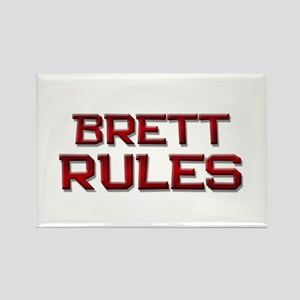 brett rules Rectangle Magnet