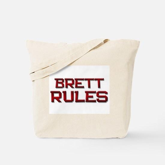 brett rules Tote Bag
