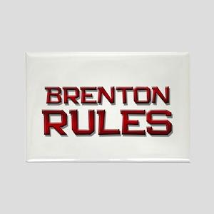 brenton rules Rectangle Magnet