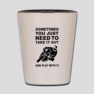 Take It Out And Play With It Shot Glass