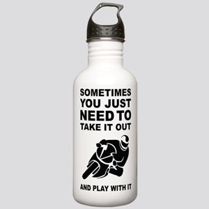 Take It Out And Play With It Sports Water Bottle