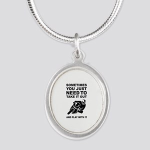 Take It Out And Play With It Necklaces