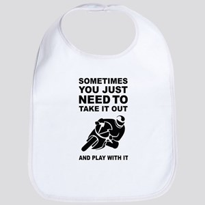 Take It Out And Play With It Baby Bib