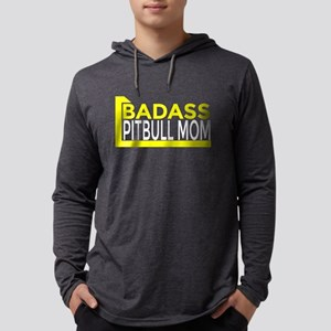 Badass Pitbull Mom Long Sleeve T-Shirt