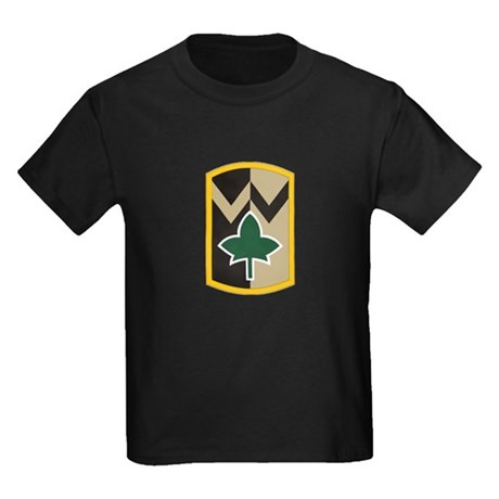 4th Sustainment Brigade Kids Dark T-Shirt