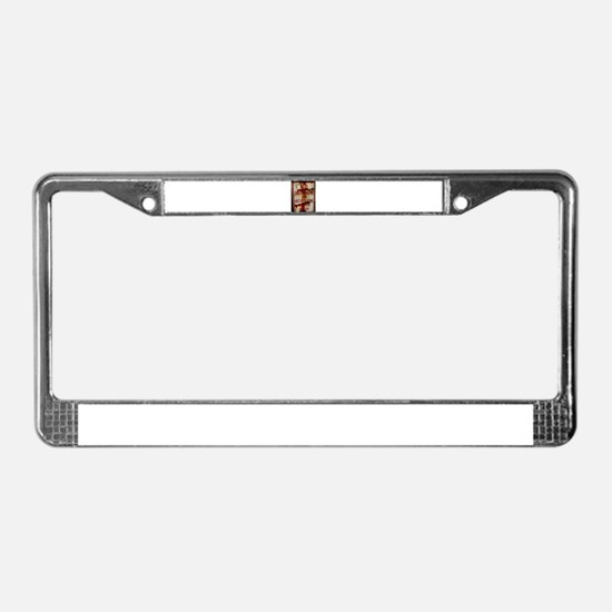 Unique Skateboard License Plate Frame