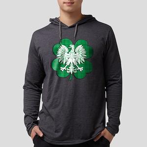 Irish Polish Heritage Long Sleeve T-Shirt
