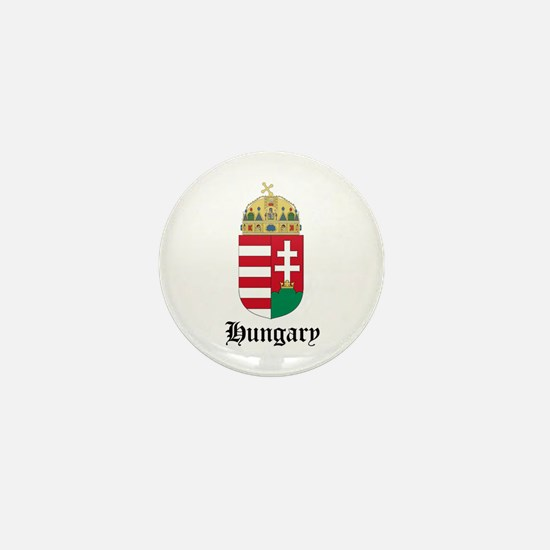 Hungarian Coat of Arms Seal Mini Button