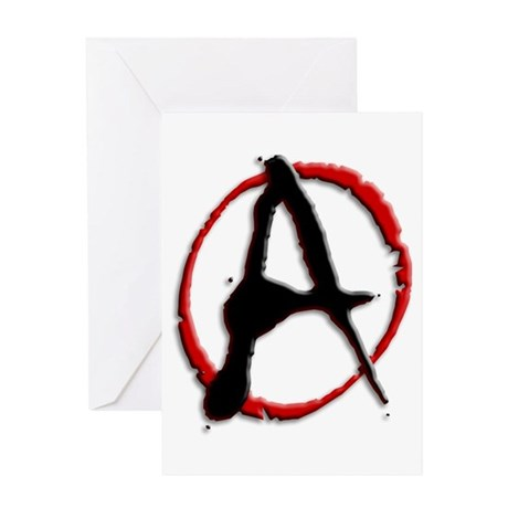 Anarchy Now Greeting Card